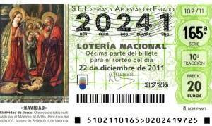 Número de Loteria de Nadal 2011