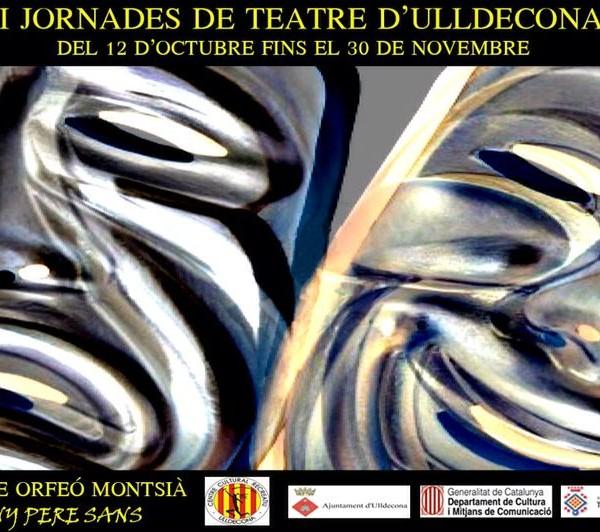 A pocs dies de començar les XXXII Jornades de Teatre de tardor d'Ulldecona